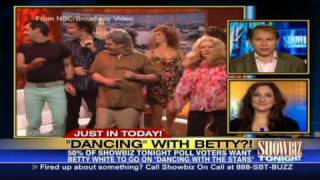 HLN:  'Dancing' with Betty White?