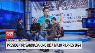 Membaca 'Dukungan' Jokowi untuk Sandi #LayarDemokrasi