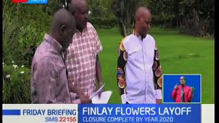 Kericho leaders up in arms over the move by Finlay Flowers to lay off 1,700 workers