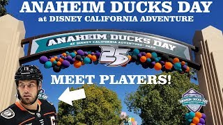 Anaheim Ducks Day at Disney California Adventure!  One day only!
