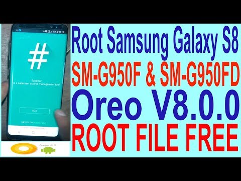 HOW TO ROOT G950F G955F ANDROID V8 0 0 GALAXY S8 S8 PLUS - смотреть