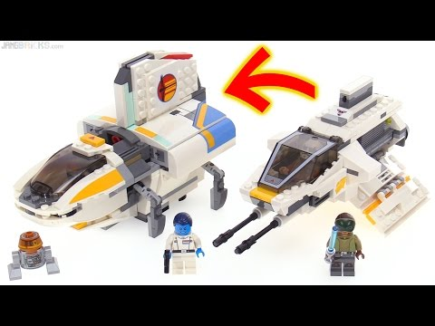 LEGO Star Wars Rebels: The Phantom (II) review! 75170