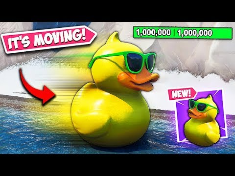 *NEW EVENT* GIANT DUCK IS NOW MOVING!! - Fortnite Funny Fails and WTF Moments! #602