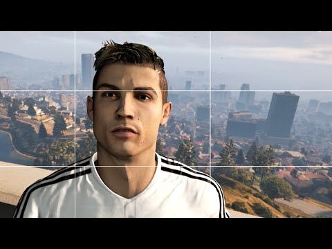 Cristiano Ronaldo Would Be A Huge Dick In GTA V
