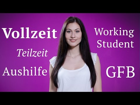 Виды рабочего времени в Германии