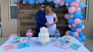 👶 Gender Reveal Party. We Are Having A Baby!