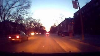 Лихач на дороге