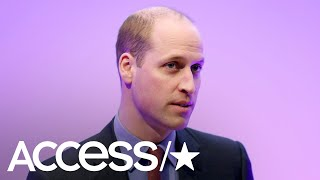 Prince William Opens Up About A Work Incident That Impacted His Mental Health | Access