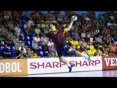 Un gol en tres segundos en el Barça de balonmano