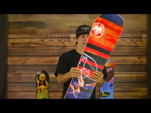 Never Summer Mini Proto Snowboard - Kids'