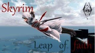 Skyrim. Прыжок веры (leap of faith)