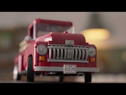 Vidéo LEGO Adults Welcome 10290 : Le pick-up