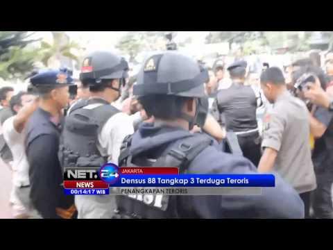 NET24 - Terduga teroris bom ditangkap di Medan