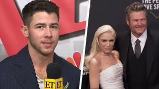 Nick Jonas Teases If He's Performing at Blake Shelton and Gwen Stefani's Wedding (Exclusive)
