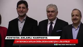 Konya'da anlamlı kampanya