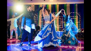 BEST BOLLYWOOD SANGEET DANCE   ARSAH AND AZIM 2019