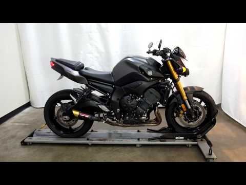 2012 Yamaha FZ8 in Eden Prairie, Minnesota - Video 1