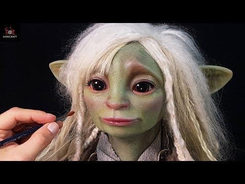 Sculpting Deet - The Dark Crystal, Age of Resistance - In Timelapse