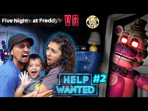 , title : 'FIVE NIGHTS at FREDDY's HELP WANTED #2! Mom Plays & We GLITCHED the GAME! (FGTEEV FNAF Real Life?)'