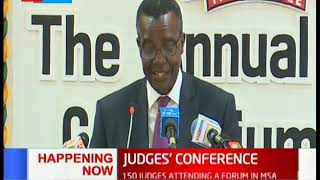 150 judges to attend Judges\' conference forum held in Mombasa