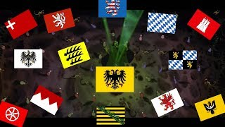 Every HRE revocation and vassal swarm in Europa Universalis IV