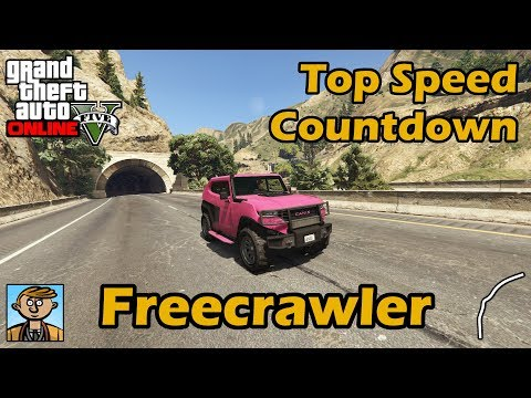 Fastest Off-Road Vehicles (Freecrawler & Menacer)-GTA 5 Best Fully Upgraded Cars Top Speed Countdown