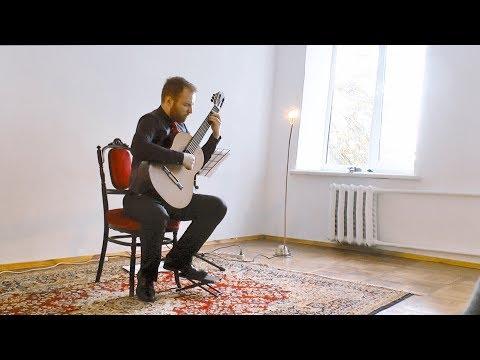 Marko Topchii plays H. Villa - Lobos - Etude №7