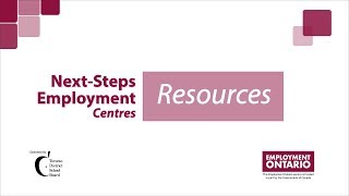 Next-Steps Employment Centres - Resources