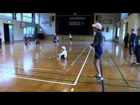 種子島の学校活動:星原小学校なわとび大会2017年
