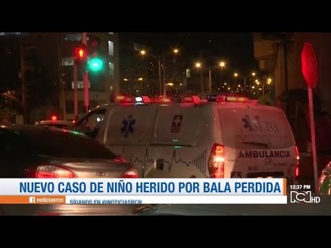 Menor de 14 años resulto herido por bala perdida en Floridablanca, Santander