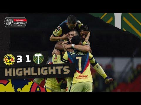 Highlights: America vs Timbers FC - 🏆 #SCC...