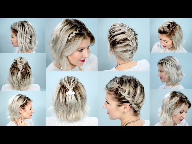 10 Easy Hairstyles For Short
