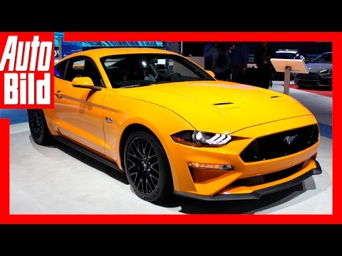 Ford Mustang Facelift (NYIAS 2017) - Fords aufgefrischtes Ponycar