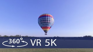 Hot Air Balloonride Houten in 360 VR