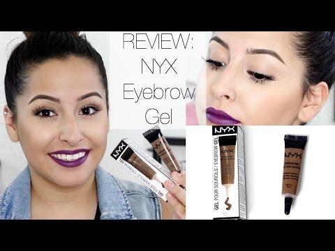 Review/Demo: NYX Eyebrow Gel | MissTiffanyKaee