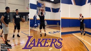 Lakers Sharpshooter Danny Green Putting In Work For NBA Season! #NBA #Lakers