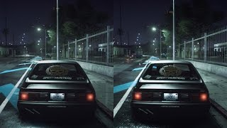 Need for Speed | Grafikvergleich - PS4 vs. Xbox One