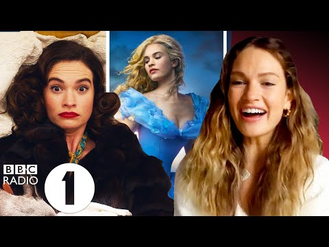 """""""How is my voice that high!?"""" Lily James on Cinderella, Mamma Mia 2 and The Pursuit of Love."""