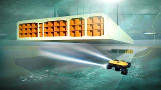 World's Deepest Underwater Tunnels of Denmark