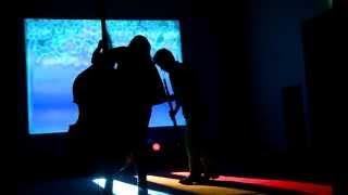"""Blue"" multimedia performance Frist Center for Visual Art"