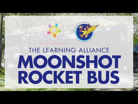 The Moonshot Rocket at McKee Botanical Gardens
