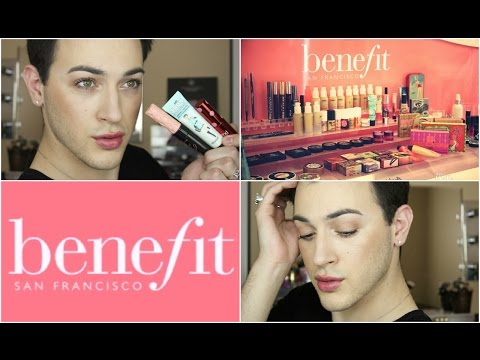 One Brand Tutorial: Benefit Cosmetics! | MannyMua