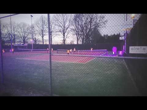 Glow in the Dark Tennis