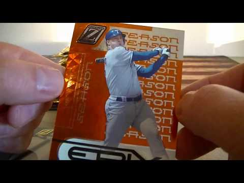 2005 Donruss Zenith Baseball 22 Retail Pack Break