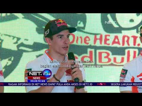 Marquez & Pedrosa ke Indonesia Perkenalkan Motor Baru - NET24