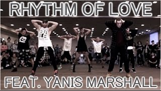 Rhythm Of Love feat. Yanis Marshall - WHES Italy