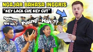 GOKIL!! Bule Jowo Masuk Sekolah Jadi Guru Bahasa Inggris !!