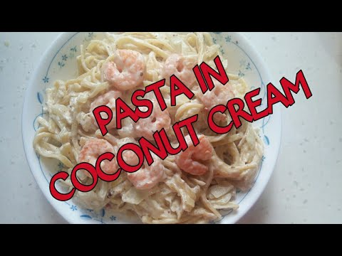 Easy and Simple Pasta in Coconut Cream