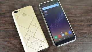 Смартфон Blackview S6 2/16 Gold от компании Cthp - видео 3