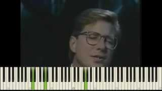 I just want to be where you are Don Moen Piano